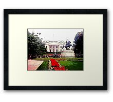 1600 Pennsylvania Avenue NW Framed Print