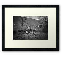Farm boy Framed Print