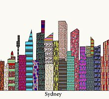 Sydney skyline  by bri-b