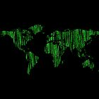 World Map in Matrix Version by keidisel