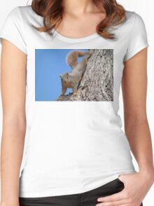 Squirrel Women's Fitted Scoop T-Shirt