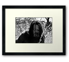 The Zombie on the Hill Framed Print