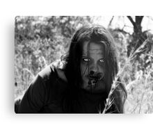 The Zombie on the Hill Metal Print