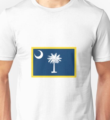 South Carolina Flag Unisex T-Shirt