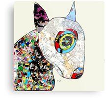 bull terrier modern  Metal Print