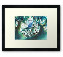 the Hero of Timey-Whimey Framed Print