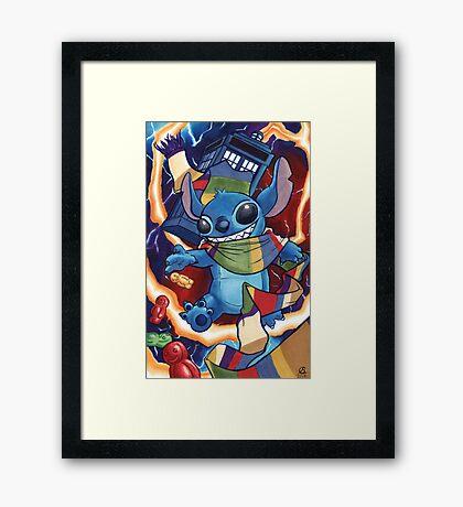 a Stitch in Time Framed Print