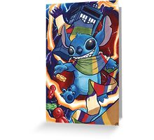 a Stitch in Time Greeting Card