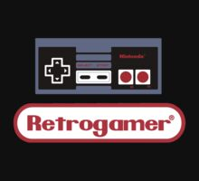 Retrogamer NES Shirt by Bergmandesign