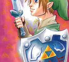 Link, the Hero by ShaunyRedComet