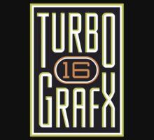 Turbo Grafx 16 Gamer shirt by Bergmandesign