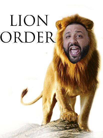 Dj khaled lion order photographic prints by for 24 hour shirt printing santa rosa