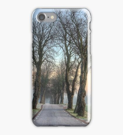 Morning Allée. iPhone Case/Skin