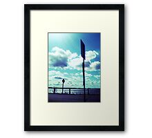 Road to Rockland Framed Print