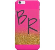 Brent Rivera initials iPhone Case/Skin