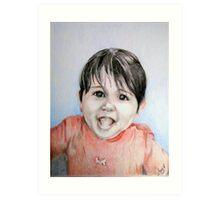 Grandbaby for Lisa Art Print