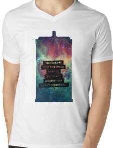 Doctor Who - 900 Years of TIme and Space... Important Mens V-Neck T-Shirt