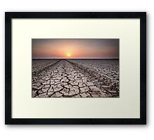 Cracked Earth #2 Framed Print