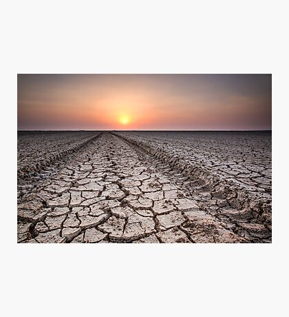 Cracked Earth #2 Photographic Print