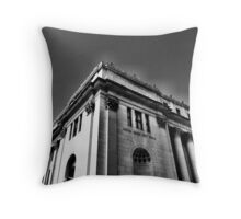 United States Post Office Throw Pillow