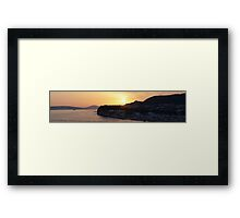 Sunset in Serenity Framed Print