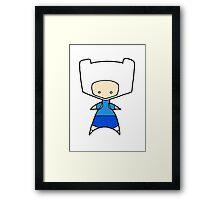 Finn Wee Star (Adventure Time)  Framed Print