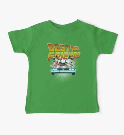 Best Friends - Back To The Future Baby Tee