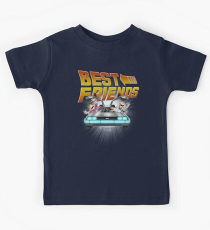 Best Friends - Back To The Future Kids Tee
