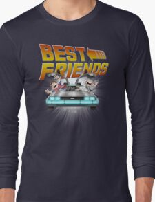 Best Friends - Back To The Future Long Sleeve T-Shirt