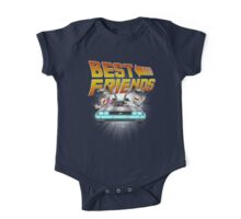 Best Friends - Back To The Future One Piece - Short Sleeve