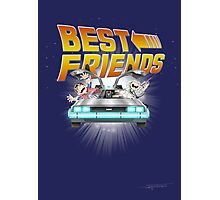 Best Friends - Back To The Future Photographic Print