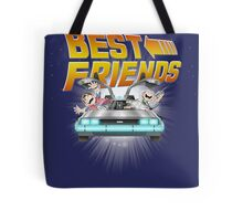 Best Friends - Back To The Future Tote Bag