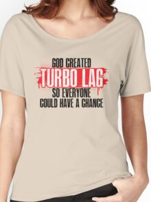 Turbo Lag Women's Relaxed Fit T-Shirt
