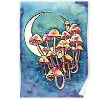 Mushroom Patch Poster