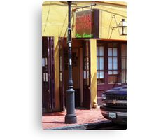 New Orleans Cigar Factory Canvas Print