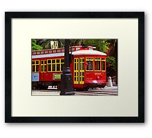 New Orleans Trolley Framed Print