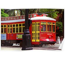 New Orleans Trolley Poster