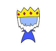 Ice King Wee Star (Adventure Time) Photographic Print