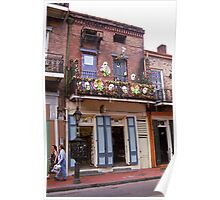 New Orleans Shops 2 Poster