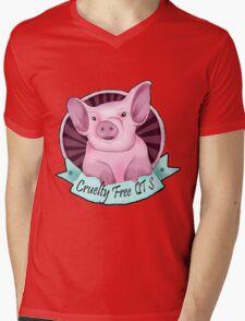CrueltyFreeQTs Piggy - Art by Lilibeth T-Shirt