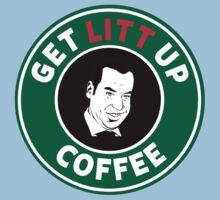 Get LITT UP Coffee One Piece - Short Sleeve