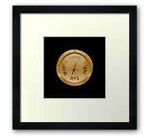 Moral Compass - Steampunk Framed Print