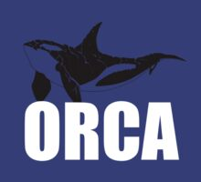 Orca (White Text) by EmperorDinodude