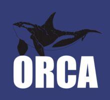Orca (White Text) T-Shirt