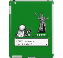 Loki Wants To Fight! iPad Case/Skin
