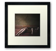 Love Hate Love Framed Print