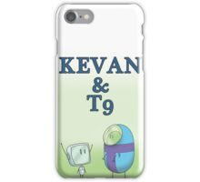 KEVAN & T9 iPhone Case/Skin