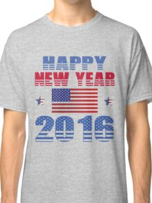 HAPPY NEW YEAR 2016 Classic T-Shirt