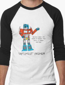 Optimist Prime Men's Baseball ¾ T-Shirt