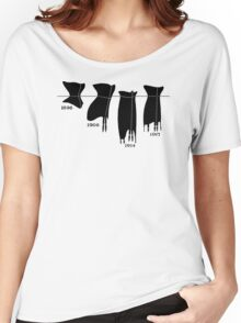 Corsets in a line tee Women's Relaxed Fit T-Shirt